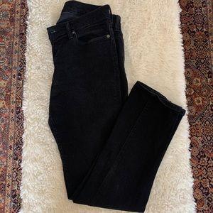 Abercrombie & Fitch Men's Black Langdon Slim Pants